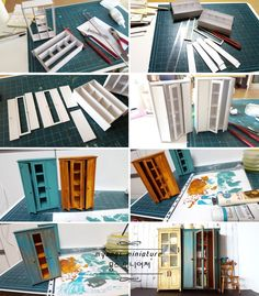 15 Brilliant and Easy DIY Crafting Hacks Dollhouse Miniature Tutorials, Miniature Crafts, Miniature Houses, Miniature Dolls, Modern Dollhouse, Diy Dollhouse, Dollhouse Miniatures, Doll House Crafts, Doll Crafts