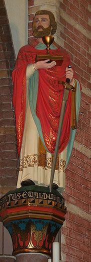 Image of St. Ewald & Ewald feast day October pray for us. Catholic Saints, Roman Catholic, Catholic Online, Francis Of Assisi, Priest, Pagan, Netherlands, The Darkest, Ireland