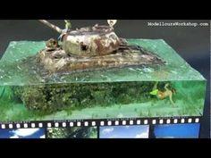 Diorama of the Day: Saipan Beach M4A2 Sherman Tank - YouTube