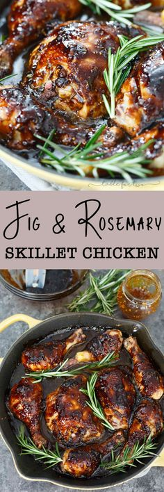 A sticky sweet and tangy sauce coats this cast iron skillet chicken! This dish will be a huge hit in your house and you will love using your cast iron skillet in no time!
