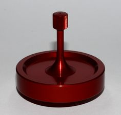 Spinny Doo Precision Spinning Top Model Sd20 In Crimson Red Anodized Finish