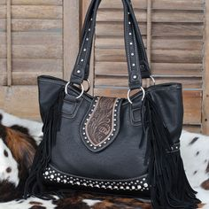 Cowgirl Fringe Handbag- Love fringe on my bags and my shoes!