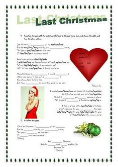 Song activity: Last Christmas