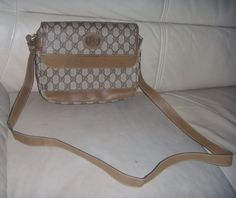 Details about Authentic GUCCI GG Ivory Canvas 936e9469eef2a
