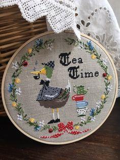 Teatime Lilli Violette Cross Stitch charts