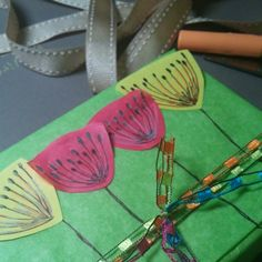 Spring is in the air. Packaging of Swarovski Crystal cube wire crochet earrings.