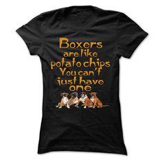 Boxers Are Like Potato Chips Shirts