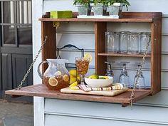 DIY Flip Down Sideboard Plans – Wood Work City
