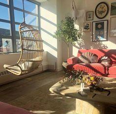 Home Decoration Livingroom Apartments Pillows 52 Ideas For 2019 Room Ideas Bedroom, Bedroom Decor, Cozy Bedroom, Bedroom Plants, Bedroom Modern, Decor Room, Pretty Room, Aesthetic Room Decor, Retro Aesthetic