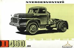 •♥• 1957 Csepel D-450.80 Truck Art, Police Cars, Monster Trucks, Marketing, Vehicles, Transportation, Car, Vehicle, Tools