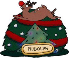 Santa's Eight Derpy Reindeer Christmas Pictures, Christmas Holidays, Merry Christmas, Christmas Decorations, Christmas Ornaments, Christmas Countdown, Holiday Storage, Jingle All The Way, Cute Cartoon