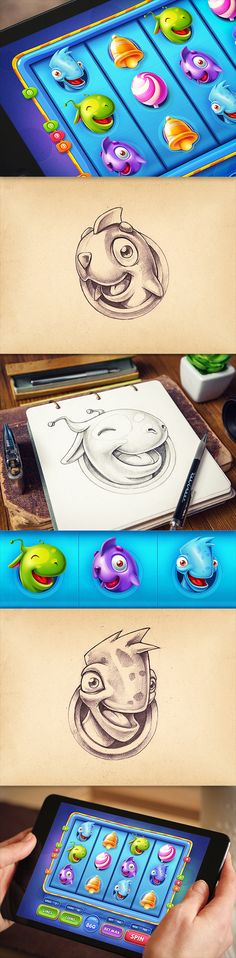 iOS Games | Part 3 on Behance ★ Find more at http://www.pinterest.com/competing/