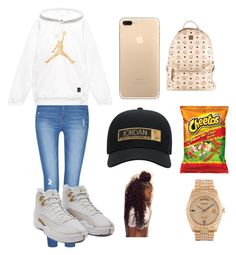 """Jordan Type A Day"" by kaldridge-1 on Polyvore featuring beauty, MCM and Rolex"