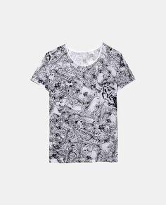 "T-shirt à imprimé ""Tigers all over"" - The Kooples"