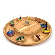 Rondelle Spinning Top Plate [When I get to this one, I'll likely use a cove rather than the bead at the edge of the turning surface]