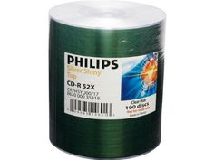 Philips 52X CD-R High Speed Blank Media by Philips. $16.00. Philips CD-R 52X Shiny Top CDR Blank Media Discs (CR7H5YU00/17) 80Min/700MB in 100 Pack Tape Wrap Manufacturer Part # CR7H5YU00/17. Save 38% Off!