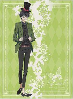 Touya Mikanagi, Manglobe, Karneval, Jiki, DVD Cover