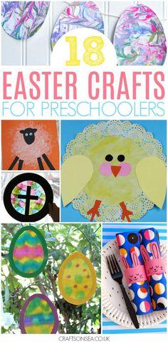 easter crafts for preschoolers #easter #preschool #kidscraft #kidsactivities #preschoolers