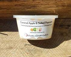Wax Melt Candle Tart Cozy Scent Wax Warmer Tart-Tart Scented Tart Scent Shot Warm Coconut and Teak Wood Wax Melt Wax Melts