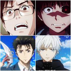 Kiseijuu: Sei no Kakuritsu | Tokyo Ghoul ^ I never even realised! TG/P parallels
