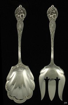 Gothic by Dominick /& Haff Sterling Silver Salad Fork 5 3//4/""