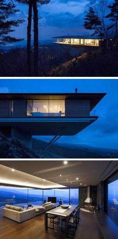 Mountain Ridge Hosting Dramatic Modern Architecture: House in Yatsugatake.