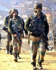 """Rashtriya Rifles of the Indian army IA also known as """"bad news"""" by the terrorists Indian Army News, Indian Army Quotes, Indian Army Recruitment, Indian Army Special Forces, Indian Flag Images, Indian Army Wallpapers, Army Pics, Army Ranks, Indian Navy"""