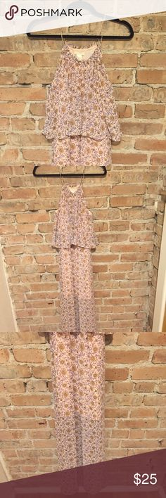 Beautiful Floral Maxi Worn twice and like new. H&M Dresses Maxi
