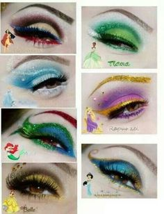 Disney princess inspired makeup