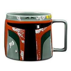 Disney Boba Fett Mug - Star Wars | Disney StoreBoba Fett Mug - Star Wars - When you're thirsty, it's tough to put a price on a refreshing drink so you'll be excited to track down this Boba Fett Mug. The bas relief design is molded in the form of the legendary bounty hunter's distinctive helmet.