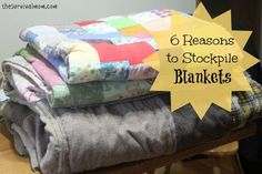 Consider these handful of great reasons to keep blankets that you would otherwise not, even the ratty ones!