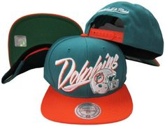Miami Dolphins Diagonal Script Aqua/Orange Two Tone Adjustable Snapback Hat / Cap  http://allstarsportsfan.com/product/miami-dolphins-diagonal-script-aquaorange-two-tone-adjustable-snapback-hat-cap/  Adjustable plastic snapback cap Embroidered Logos One Size Fits All