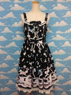 Candy Sprinkle Special JSK in Black from Angelic Pretty - Lolita Desu