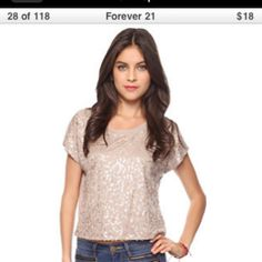 Forever 21 $18 pair with whitebor dark ultra skinny jeans a clutch and a pair of pumps and you are set
