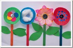 "Manualidades con flores ""Primavera"" - Material de Aprendizaje"