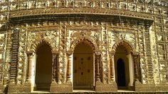 terra cotta ....bishnupur Indian Architecture, West Bengal, Forts, Terra Cotta, Palaces, Temples, Taj Mahal, Museum, Building