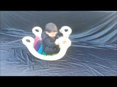 Balancín Rainbow Roker en uso - YouTube