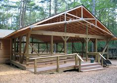 scissor truss: shed inspiration