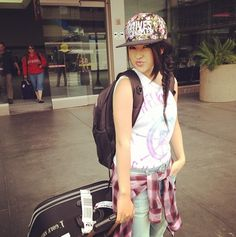 Becky G❤ traveling fashion