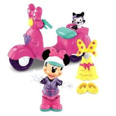 Fisher-Price Disney's Minnie's Motor Scooter, (little  girl toys, little tikes shopping cart, toddler toys)