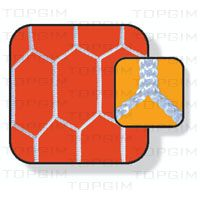 Par de Redes para baliza de Futebol 11 Ice Tray, Cube, Parallel Parking, Soccer