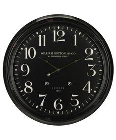 Cooper Classics 40046 Norton Wall Clock | Capitol Lighting 1-800lighting.com $134