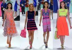 Nanette Lepore-spring 2012, bright colors for a bright future!
