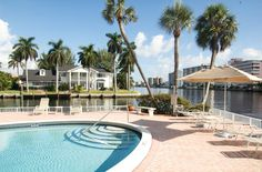 Watch yachts go by from the heated pool right on the Intracoastal Waterway. {Yacht & Beach Club Condo}