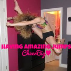 Jump Cheerleading Jumps, Cheer Quotes, Life, Encouragement Quotes, Quotes Motivation