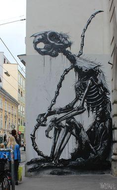 Battle de Street Art : Round 3 / Giant Monsters! | w3sh magazine - via http://bit.ly/epinner