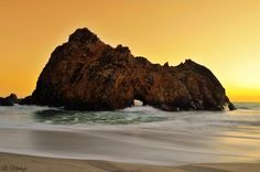 Pfeiffer Beach located in Big Sur may truly be one of the most awesome beaches in California...if you can find it.