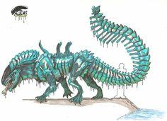 xenomorph crocodile