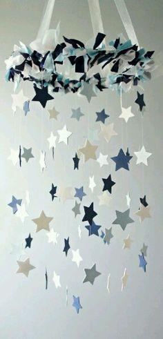 星のガーランド モビール