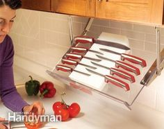 Under cabinet Storage Holder Rack New You can safely and conveniently place them…
